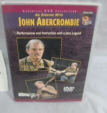 john abercrombie - an evening with dvd performance and instruction dvd