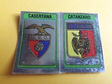 SCUDETTO CASERTANA-CATANZARO ALBUM CALCIATORI PANINI 1986/87  rec