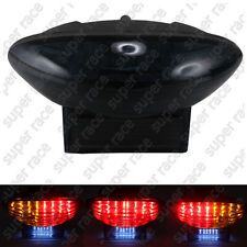 Smoke Brake LED Tail Light Turn Signal For Suzuki Hayabusa GSX1300R 1999-2007
