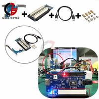 PCI-E Express X1 to Dual PCI Riser Card Slot Expansion Adapter USB 3.0 w/ Cable