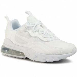 Nike women's Air Max 270 React GS Running shoes White BQ0103-100 size 8-6.5Y