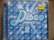VA - The Best Disco Album In The World...Ever ! CD.Both Discs In Ex.Condition.