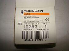 Merlin Gerin  DNP-N VIGI B6 30mA Current Circuit Breaker, NIB