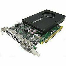NVIDIA Quadro K2000  2GB GDDR5  PCI Express 2.0 x16 2xDisplayport 1.2 1xDVI