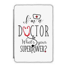 """Sono un dottore qual è il tuo superpotere Case Cover Per Kindle 6"""" e-Reader Supereroe"""