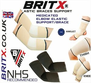 Elbow Support Brace Sleeves Guard Arm Pads MMA Gym Elastic for Joint Pain