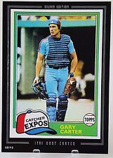2015 TOPPS ANTHOLOGY GARY CARTER 5X7 JUMBO ART CARD SILVER #/49 1981 EXPOS