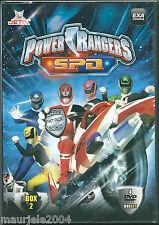 Power Rangers. S.P.D. Box 2 (1985) Cofanetto 4 DVD NUOVO SIGILLATO 18 episodi