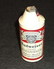 Rare Old 1960's Budweiser Beer Small Beer Can Lighter - Works