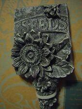 Stone Garden Seeds Garden Marker Sunflower Design Free Shipping/Handling