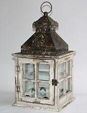 Laterne Windlicht Gartenlaterne Shabby Vintage Kerzenhalter Landhaus 1307804