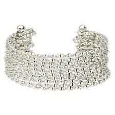 "Wholesale Silver Cuff Bracelet Bangle Vintage Classic Twist Style 8"" Adjustable"