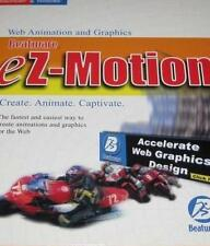 Beatware EZ-Motion w/ Manual PC MAC CD custom web animation graphics flash image