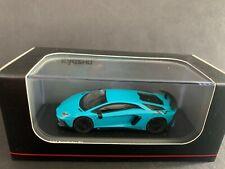 Kyosho Lamborghini Aventador SV Blue KS07065A1 1/64