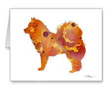 Eurasier Note Cards With Envelopes