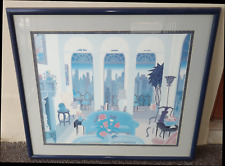 "Thomas McKnight ""Blue Couch"" Beautifully Framed Art Print"