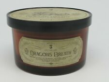 Haven St. Candle Co Dragon Breath Net Wt 14.44 oz Scented Candle 3 wick