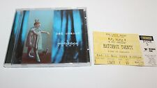 Matchbox Twenty Mad Seasons Music CD & Concert Ticket 2000 Rod Laver
