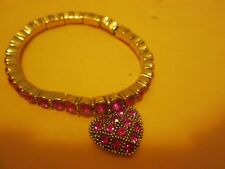 Pink Heart Bracelet New No Tag Or Box