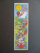 Vintage BOOKMARK Book Tokens Please Reading is to the Mind Steel Quote UNUSED