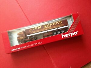 Boxed Herpa 842011 HO 1/87 Tom Shanks Aberdeen Tractor Trailer
