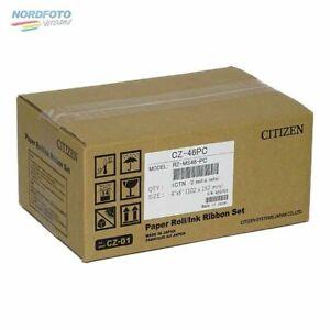 CITIZEN Mediaset für CZ-01 Drucker 10x15cm (4x6inch) für 300 Bilder