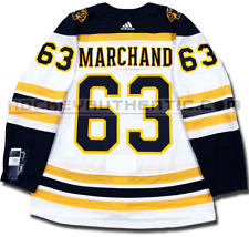 BRAD MARCHAND BOSTON BRUINS AWAY AUTHENTIC PRO ADIDAS NHL JERSEY