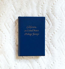 California on United States Postage Stamps Achille J. St. Onge Miniature Book