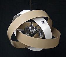 SOSPENSIONE LAMPADA LAMPADARIO MODERNO CONTEMPORANEO CROMO TELESCOPICA ART.L49