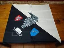 PALIO DI SIENA - Fazzoletto bandiera di Siena 80 x 80 NUOVO - foulard scarf new!