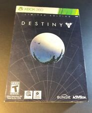Destiny Limited Edition [ STEELBOOK Pack W/ Expansion Pass ] (XBOX 360) NEW