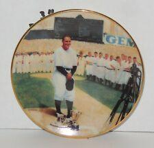 "Vintage Bradford Edition 1995 Legends of Baseball Lou Gehrig 3 1/2"" Mini Plate"