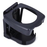 Black ABS Vehicle Car Folding Beverage Drink Bottle Can Cup Holder Stand Mount