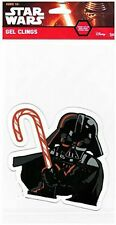 Star Wars Darth Vader Christmas Gel Window Cling NIP