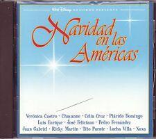 VARIOUS – Navidad en las Americas (Walt Disney Records #67626-7, USA - 1994)