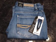 New! Buffalo David Bitton Womens Size 6x30 Misha Mid Rise Straight Leg Jeans