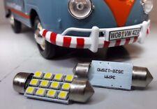 VW Volkswagen Splitscreen Bay LED 12V Interior Courtesy Light Festoon Bulbs x2
