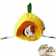Micoka Hamster Bed House Bedding Winter Hanging Fruit Pineapple Warm.