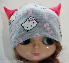 Halloween Custom Hello Kitty Hat for Blythe - BC-163, Grey
