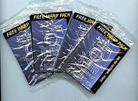 Star Trek NG Warp Packs CCG 4X 1995 Decipher New 1995 12 cards per pack 48 total