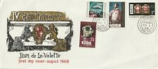 1968 Malta oversize FDC cover400th Anniversary of the Death of Valettes