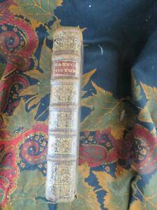 ancien livre  RELIGIEUX 1721 catechisme doctrine chretienne