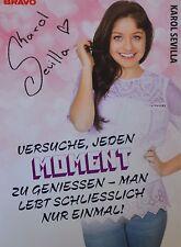 KAROL SEVILLA - Autogrammkarte - Autograph Autogramm Soy Luna Clippings NEU