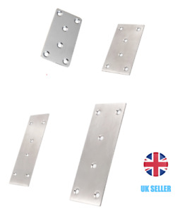 Jointing Mending Plates Stainless Steel 78x40mm, 90x48mm, 127x48mm, 165x48mm