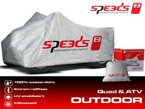 SPEEDS Quad Garaga Abdeckung L Outdoor Wetterfest* 226x127x120