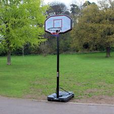 PROFESSIONAL FULL SIZE PORTABLE ADJUSTABLE BASKETBALL STAND NET HOOP BACKBOARD