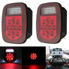 2XTail Light  39LED Brake Reverse Turn Signal For Jeep Wrangler TJ CJ 76-06 Lamp