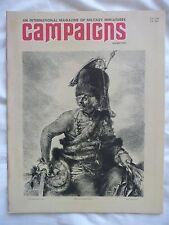 CAMPAIGNS #4 (1976) • Zieten Hussars/Ray Anderson/Desert War/Waterloo • VG+