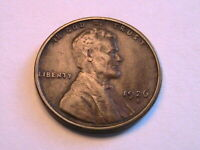 1926-S Lincoln Cent Choice VF Very Fine Nice Toned Original Wheat Penny USA Coin