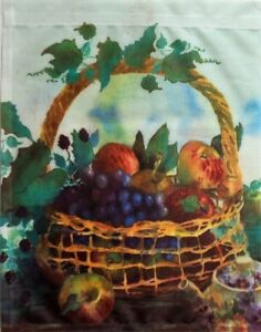 Dee's Harvest Garden Flag by Toland #415, Judy Buswell Artist